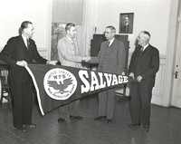 1943-03-11 Louis Courtemanche Jr. presents Salvage penant