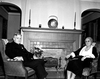 1939-3-16 Dr & Mrs Wiliam Grahm Everson; Linfield President's Home-2